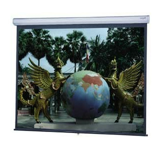 "Da-Lite 54"" x 96"" Model C with Controlled Screen Return (CSR) - Matte White"
