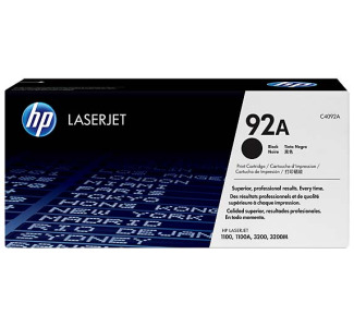 HP LaserJet C4092A Black Print Cartridge with Ultraprecise Technology - C4092A