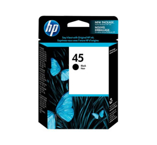 HP 51645A Black 45 Cartridge