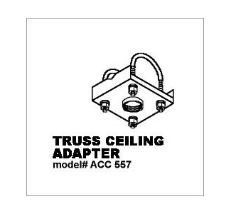 ACC557 Truss Ceiling Adapter