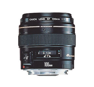 Canon EF 100mm f/2 USM Telephoto Lens