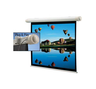 Draper 73x96 Salara/Plug & Play Electric Screen, Matte White