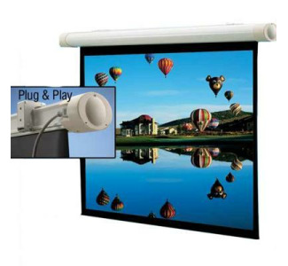 Draper 60x80 Salara/Plug & Play Electric Screen Matte White