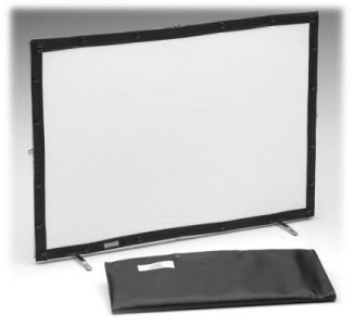 DA-LITE 40467 Fast-Fold Mini-Fold Tabletop Projection Screen
