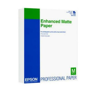 "EPSON Enhanced Matte Paper - 8.5""x 11"" 250 Sheets"