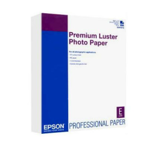 "EPSON Premium Luster Photo Paper - 8.5""x 11"" 250 Sheets"