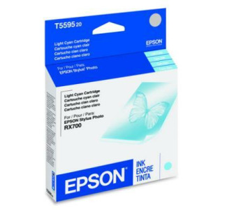 Epson Light Cyan Ink Cartridge for Epson Stylus Photo RX700