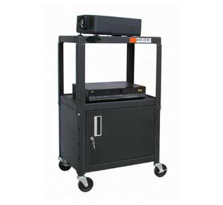 "Buhl HACAB4226E 26""- 42"" Adjustable AV Cart"