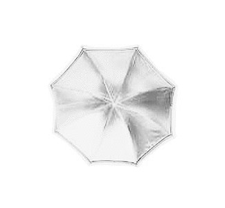 "RPS Studio 36"" Octagonal  White Translucent Umbrella"