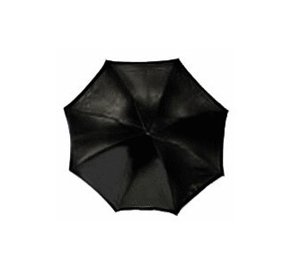 "RPS Studio 40"" Octagonal  Umbrella - Black Outside, White Inside"