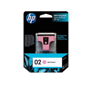 HP 02 Light Magenta Ink Print Cartridge