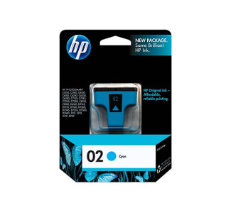 HP 02 Cyan Ink Print Cartridge