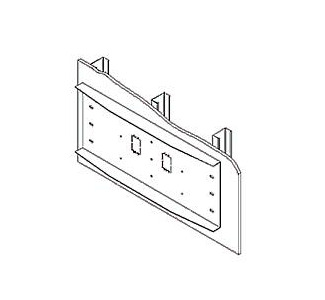 Peerless Triple Stud 24-in. EXT. Wall Plate WSP470