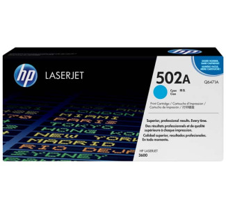 HP Cyan Cartridge for Laserjet Printers 3600/3800