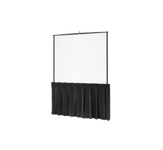 "Da-Lite 60"" Black Tripod Skirt"