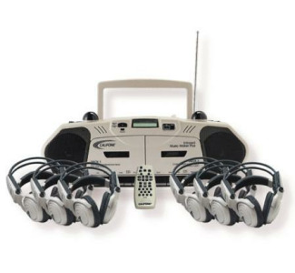 Califone 6-Person Wireless (Cord Free) Learning Center