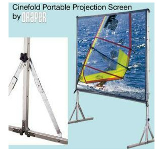 Draper Cinefold 8'x 8' Rear Projection Screen