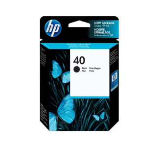 HP 40 Black Inkjet Print Cartridge