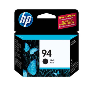 HP 94 Black Inkjet Print Cartridge with Vivera Ink