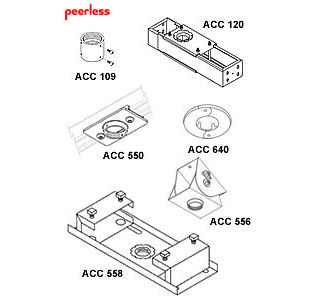 Peerless Security Fasteners for SA730's