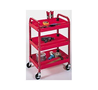 Luxor Three Shelf Activity Cart