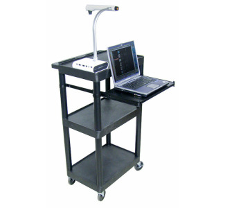 "44.25""H Multipurpose Presentation Cart"