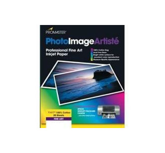 "Promaster 8.5""x 11"" Canvas Inkjet Paper - 15 sheets"
