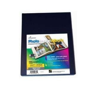 "Promaster 8.5"" x 11"" Dual-Sided Cotton Bright White Paper - 25 sheets"