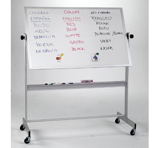 Best-Rite Deluxe Reversible Dry-Erase Board on Wheels