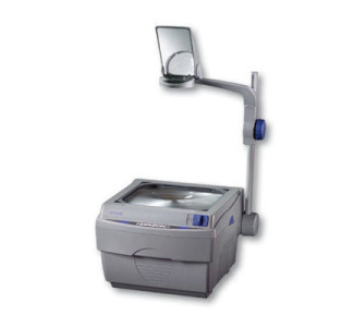 Apollo 16000M 2000 Lumens Openhead Overhead Projector with Marker