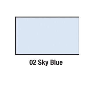 Savage Sky Blue Background Paper (107