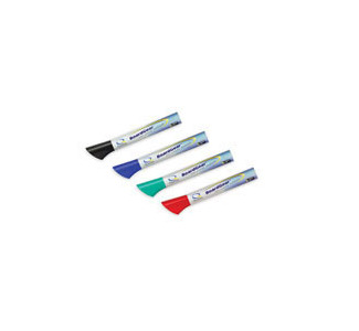 GBC Quartet Dry-Erase Assorted Color Markers (4-pack)
