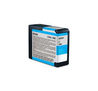 Epson Cyan Ink Cartridge for 3800 (UCM Ink - 80ml)