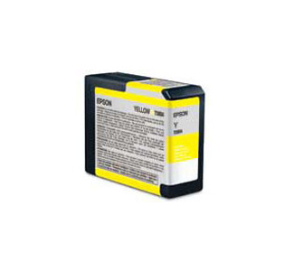 Epson Yellow Ink Cartridge for 3800 (UCM Ink - 80 ml)