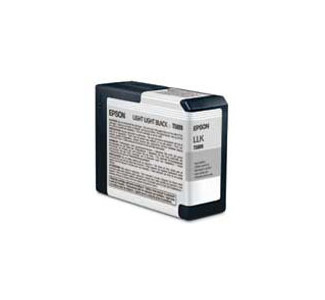 Epson Lt. Black Ink Cartridge for 3800 (UCM Ink - 80 ml)