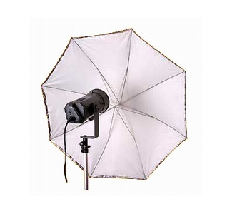 "Promaster SystemPRO Umbrella 45"" Convertible White"
