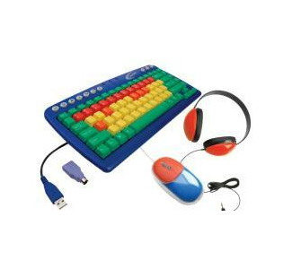 Califone KIDSPACK Computer Package Includes: Keyboard, Mouse, Headphone