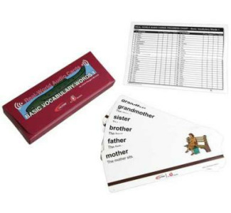 Califone MCFBV1 Basic Vocabulary #1 Card Program