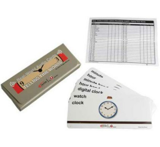 Califone MCFTT Telling Time Card Program