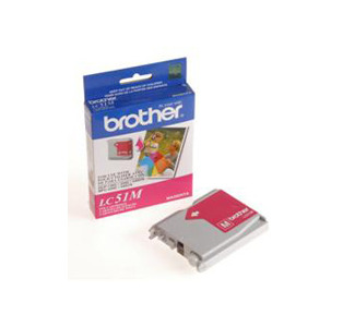 Brother LC51M Innobella Ink Cartridge - Magenta