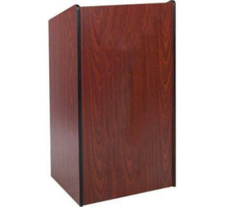 "Amplivox W450 Presidential Plus Lectern Mahogany 46.5"" Height"