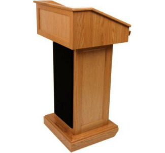 Amplivox SN3020 Victoria Lectern Only Oak