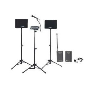 Amplivox SW230A Voice Carrier PA System 50 watt with Wireless Lapel Mic