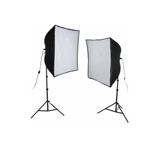 Smith Victor KSB-1000 Economy SoftBox Light Kit