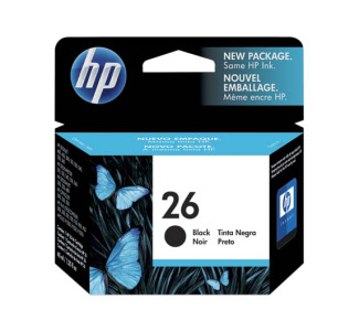 HP 26 Black Original Ink Cartridge