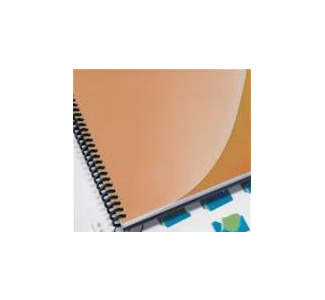 "GBC 8.5"" x 11"" ClearView Presentation Covers-Premium Plus, Heavyweight, Square Corners, Frost 25pk"