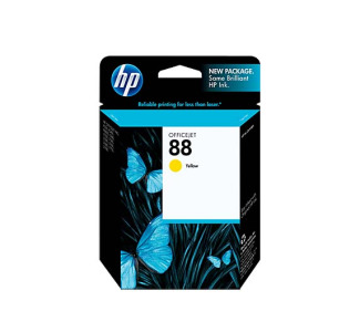 HP NO 88 Vivera Yellow Inkjet Cartridge C9388AN#140