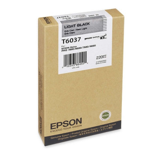 Epson 220ML Ultrachrome K3 Photo Light Black Ink Cartridge For Pro 7880 / 9800 Printer