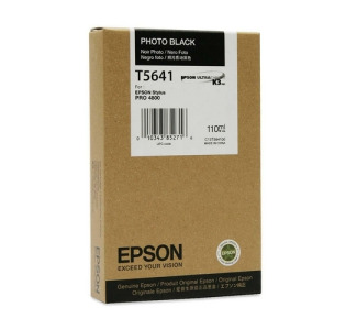 Epson T605100 110 ml Photo Black UltraChrome Ink Cartridge for Epson Stylus Pro 4880