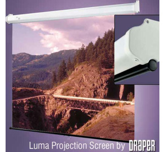 "Draper Luma 60"" x 80"" Wall Screen Matte White (100"" Diagonal)"